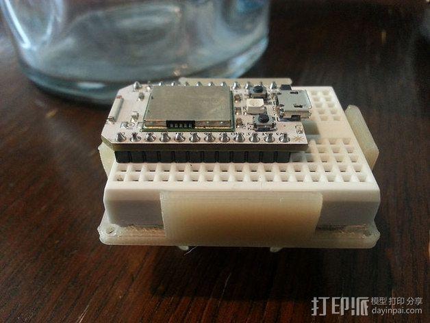 迷你面包板适配器 3D模型  图7