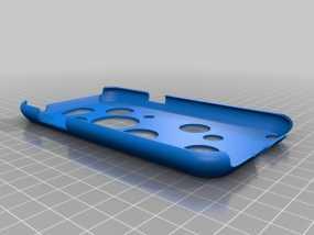 三星 Note2手机壳 3D模型