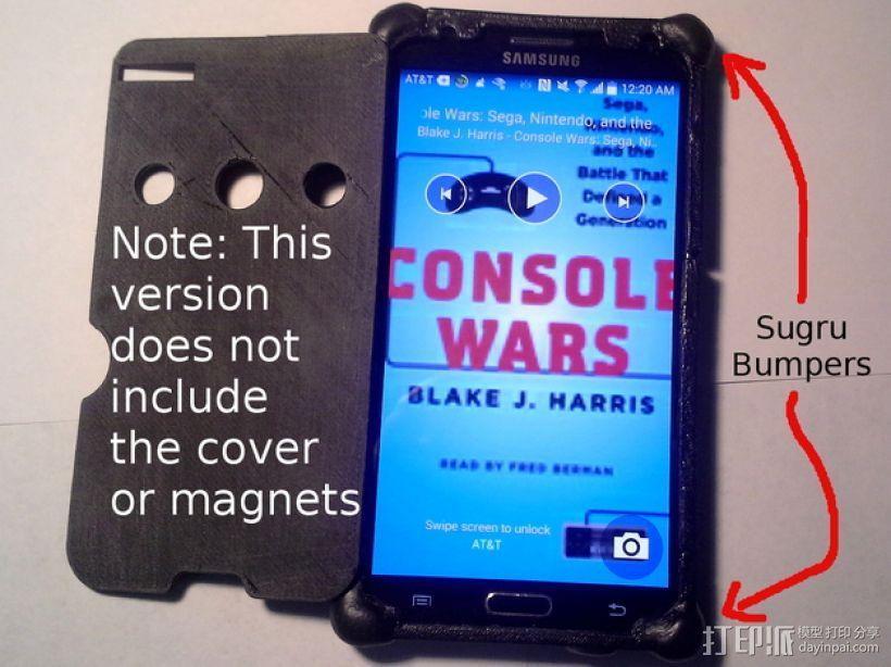 三星Galaxy Note 3手机保护套 3D模型  图1