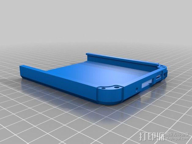三星Galaxy Note 3手机保护套 3D模型  图3