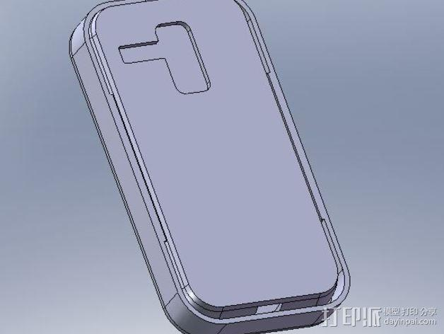 摩托罗拉 Moto X手机保护外壳 3D模型  图1