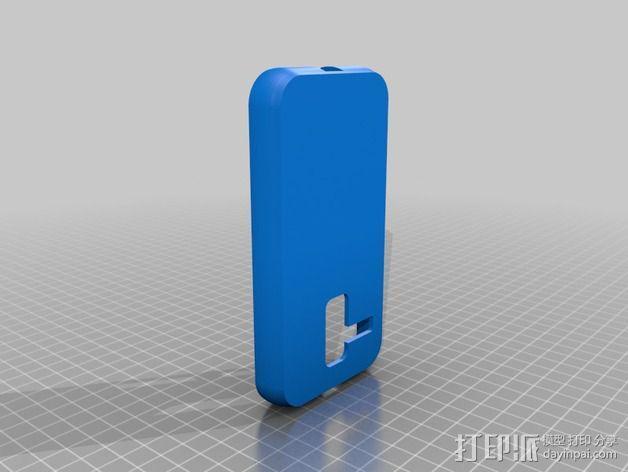 摩托罗拉 Moto X手机保护外壳 3D模型  图2