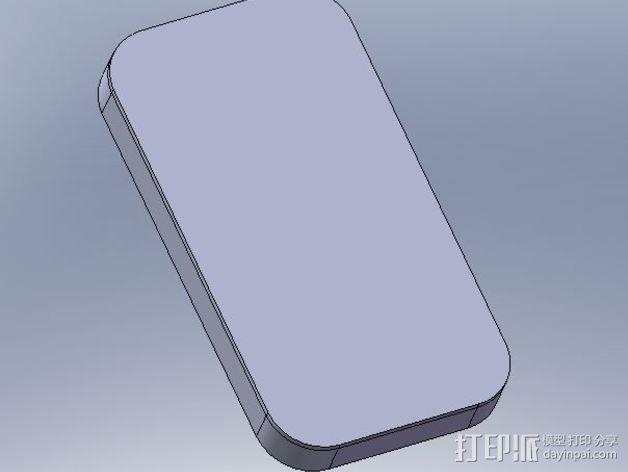 摩托罗拉 Moto X手机保护外壳 3D模型  图4
