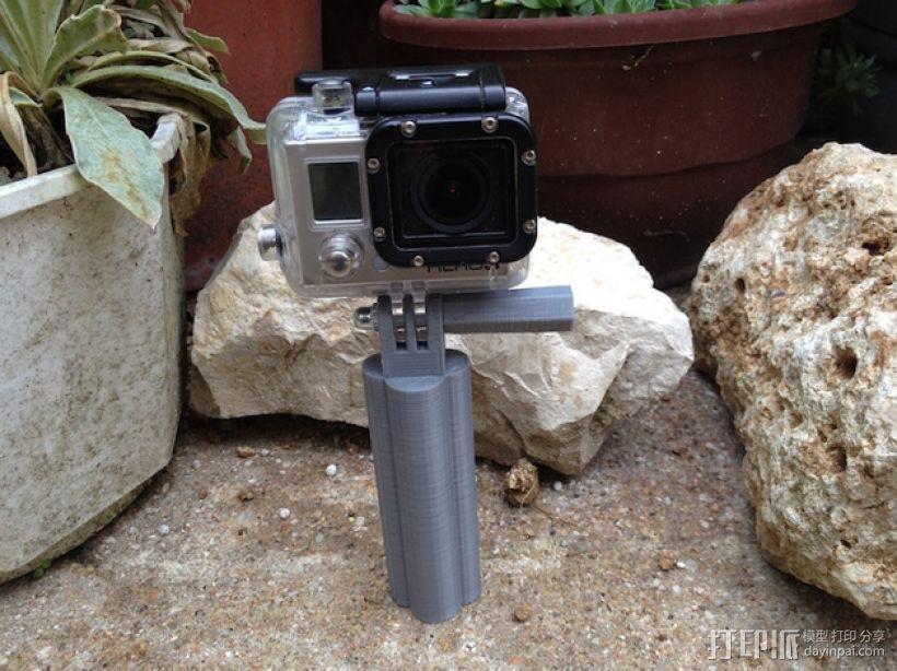 GoPro相机手柄 3D模型  图3