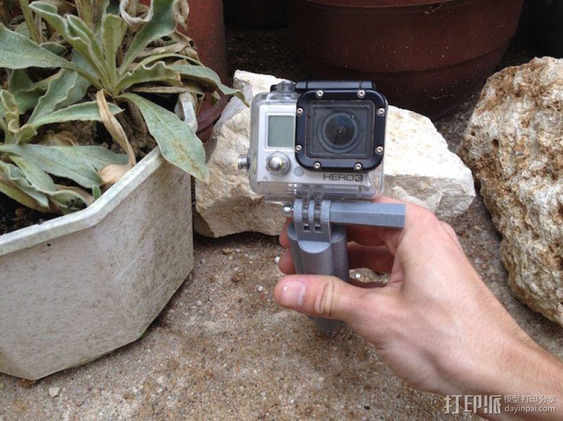 GoPro相机手柄 3D模型  图4