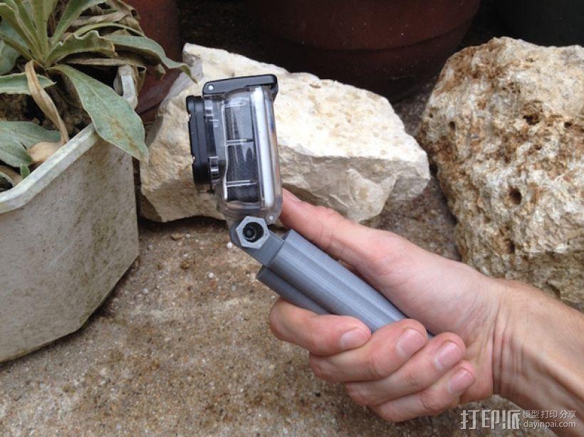 GoPro相机手柄 3D模型  图5