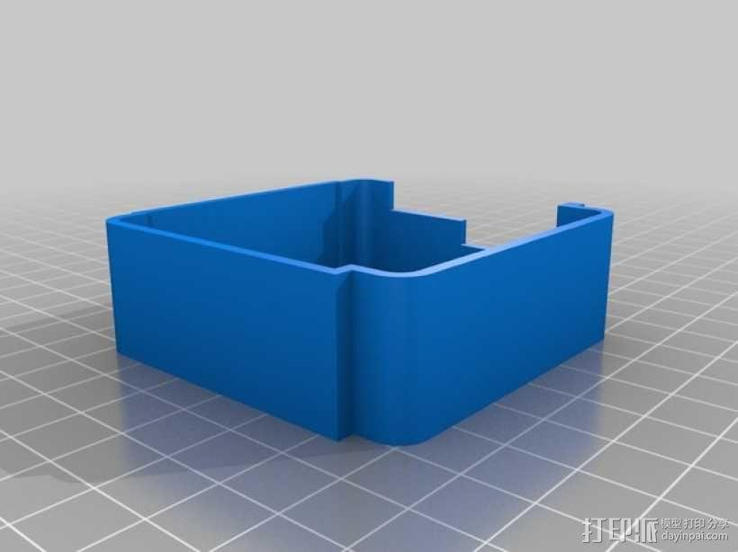 gopro2/3相机固定器/稳定器 3D模型  图4