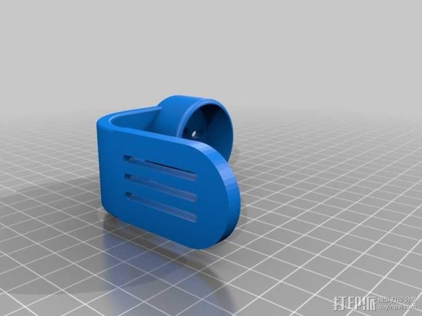 gopro2/3相机固定器/稳定器 3D模型  图8
