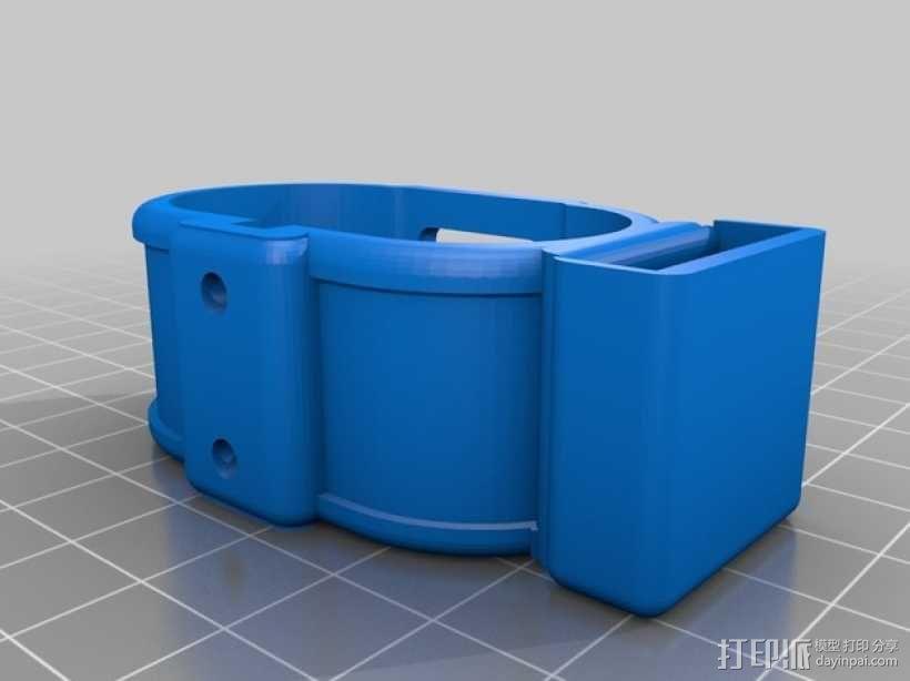 gopro2/3相机固定器/稳定器 3D模型  图10
