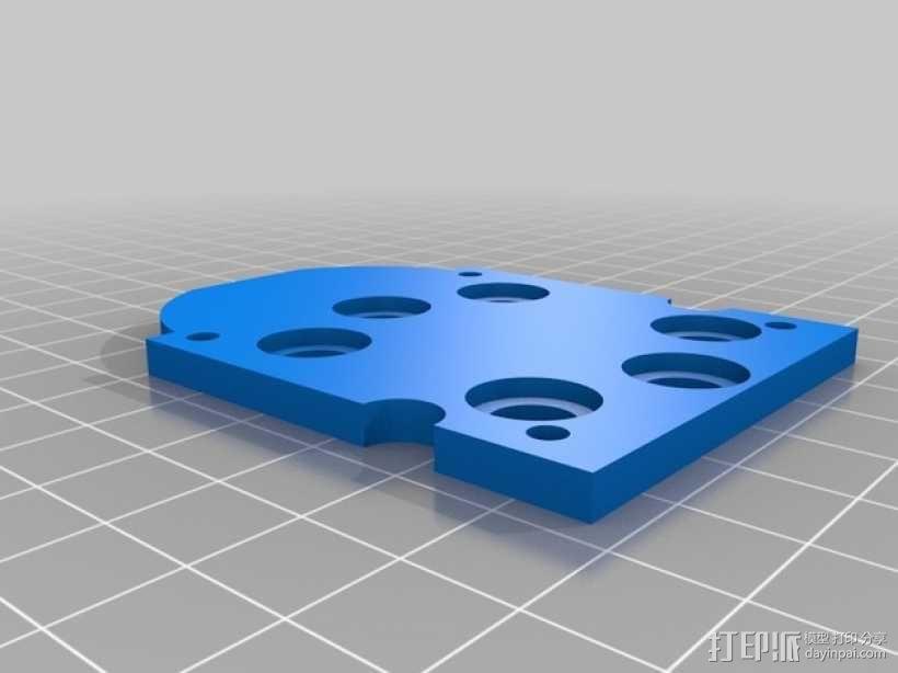 gopro2/3相机固定器/稳定器 3D模型  图11