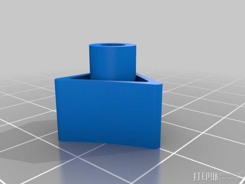 gopro2/3相机固定器/稳定器 3D模型  图12
