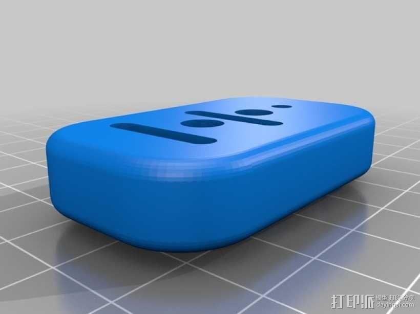 gopro2/3相机固定器/稳定器 3D模型  图15