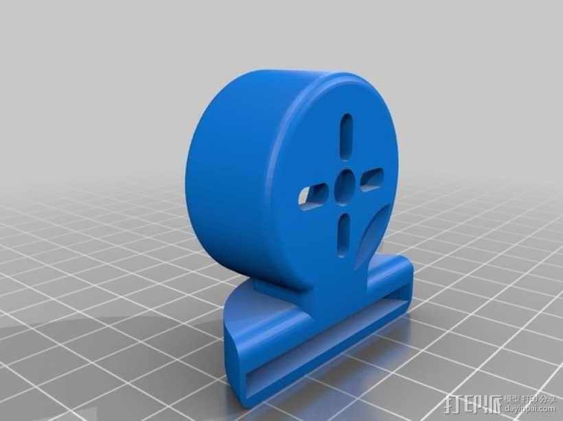 gopro2/3相机固定器/稳定器 3D模型  图14