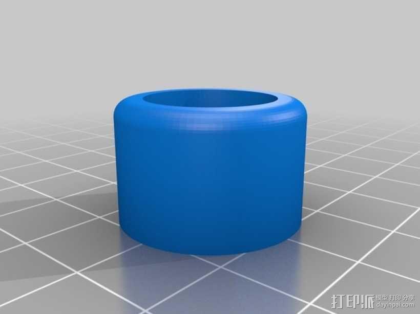 gopro2/3相机固定器/稳定器 3D模型  图17