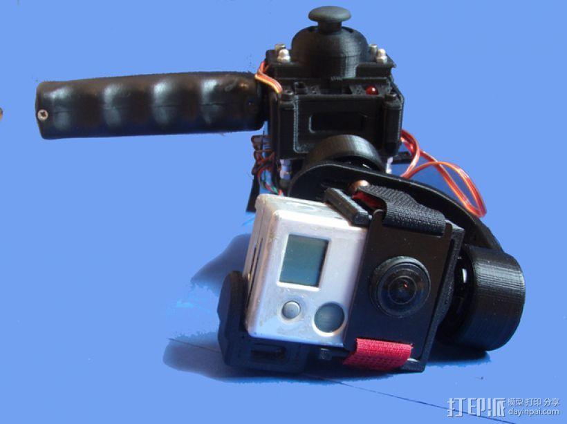gopro2/3相机固定器/稳定器 3D模型  图18