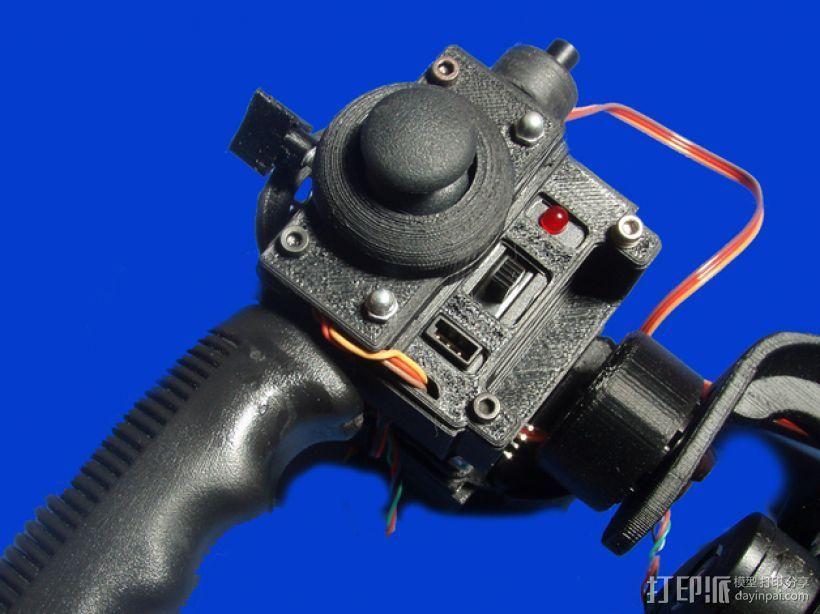 gopro2/3相机固定器/稳定器 3D模型  图21