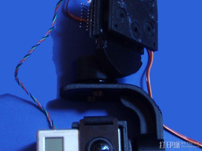 gopro2/3相机固定器/稳定器 3D模型  图24