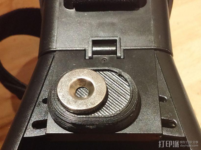 谷歌纸盒 磁力开关 3D模型  图1