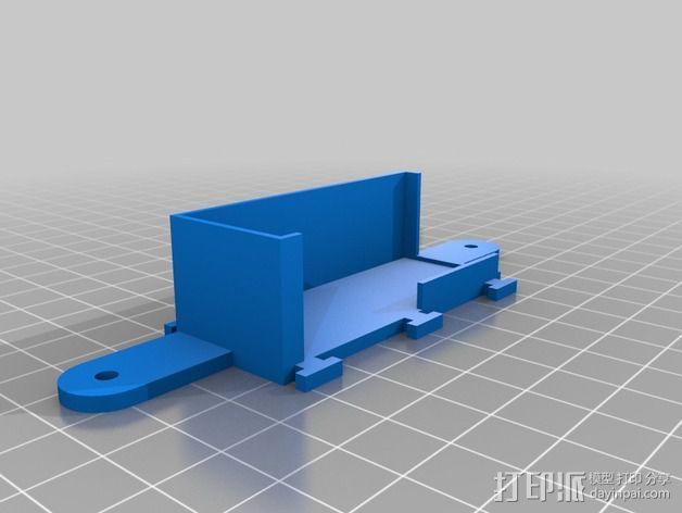 goPro相机支架 3D模型  图6