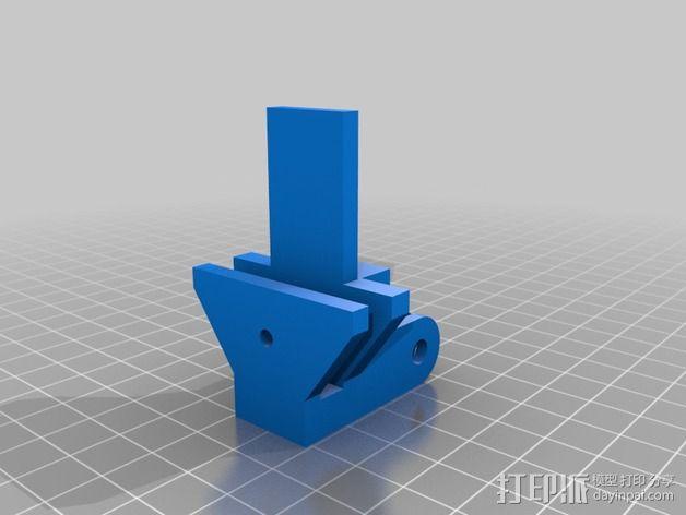 goPro相机支架 3D模型  图8