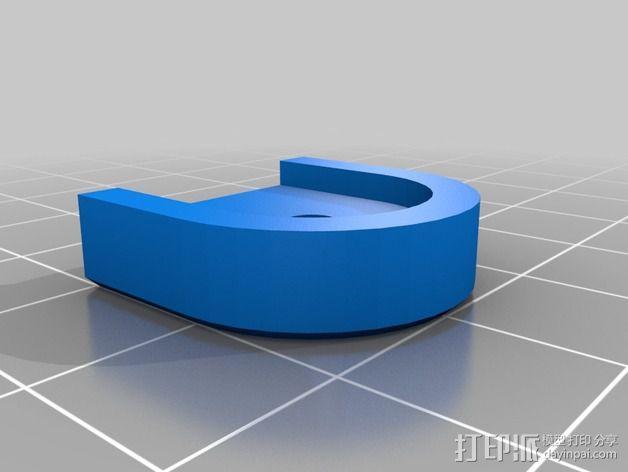 goPro相机支架 3D模型  图11