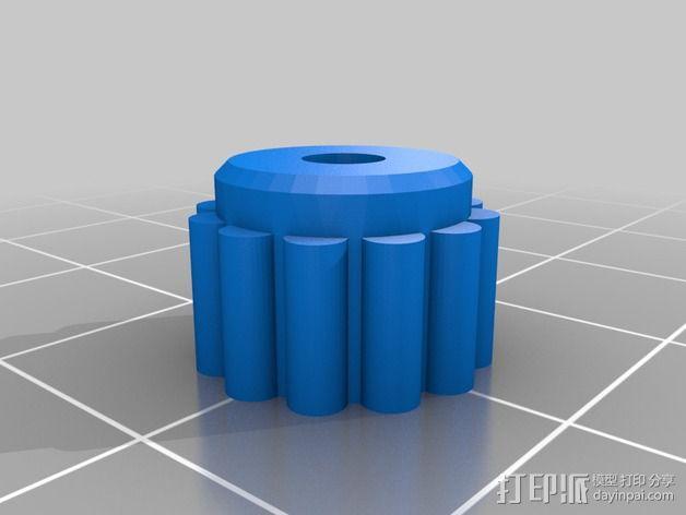 goPro相机支架 3D模型  图10