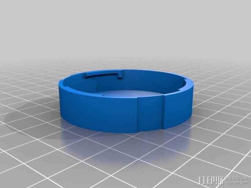 尼康相机镜头盖 3D模型  图2