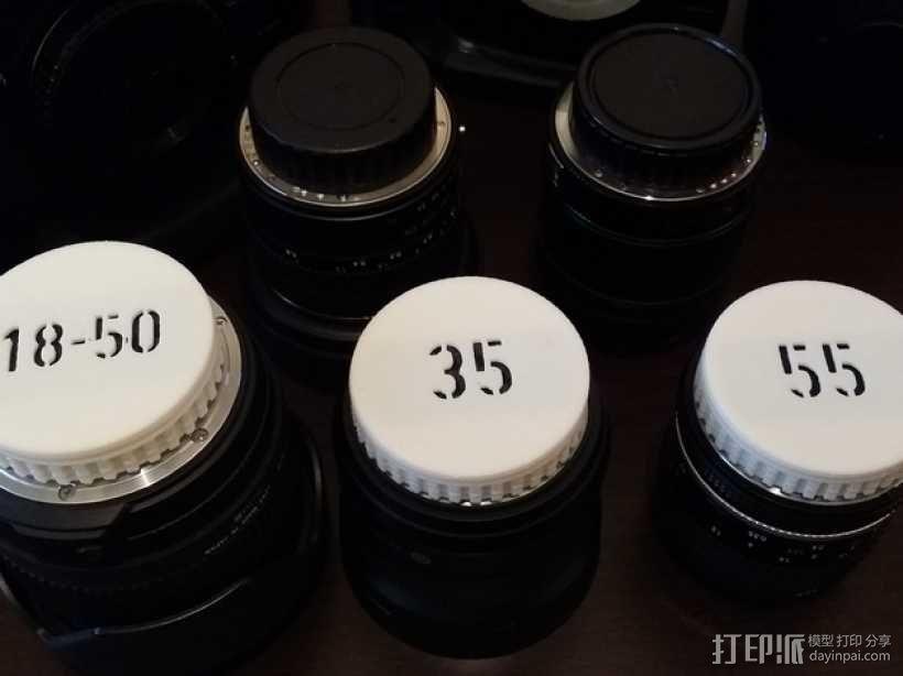 尼康相机镜头盖 3D模型  图4