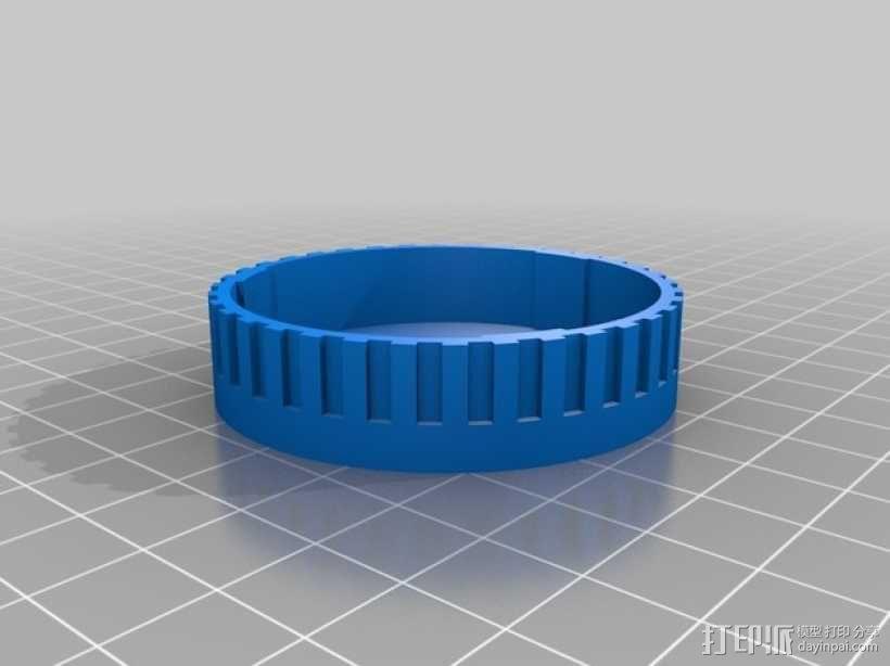 尼康相机镜头盖 3D模型  图10