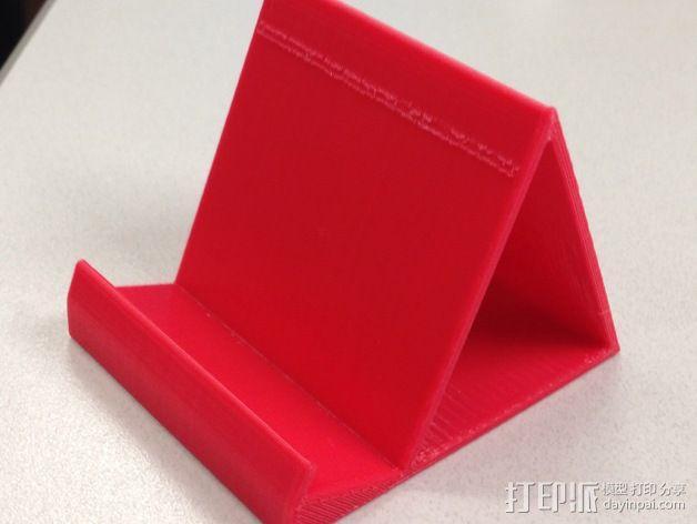 iPhone5 手机支架 3D模型  图1