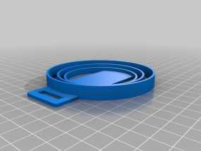 尼康相机镜头盖 收纳盖 3D模型