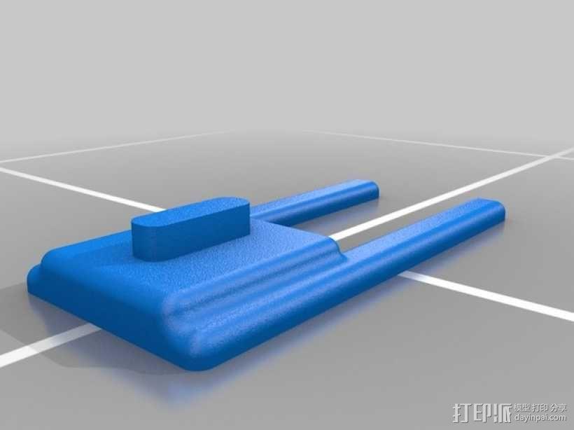 Macbook Pro笔记本电脑支架 3D模型  图2