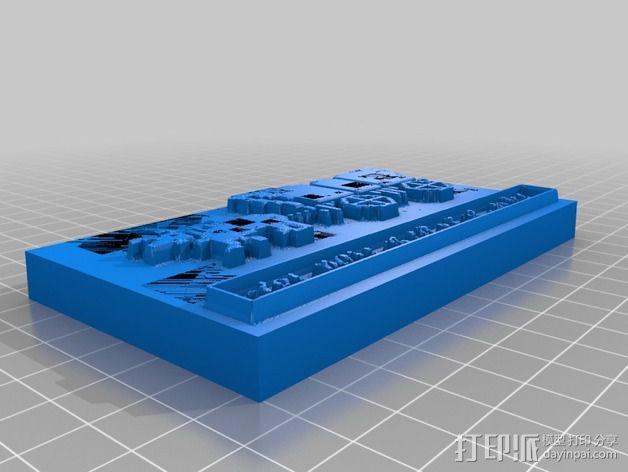 俄勒冈小道 游戏标签 3D模型  图2