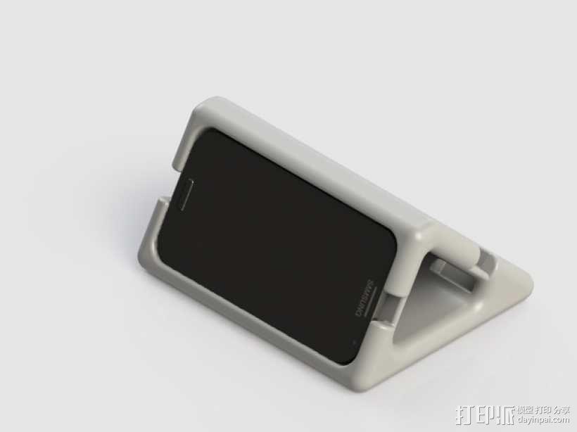 三星Galaxy S4手机架 3D模型  图1