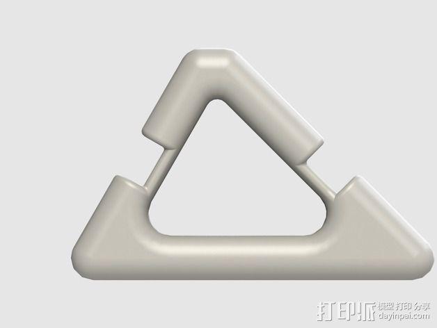 三星Galaxy S4手机架 3D模型  图4