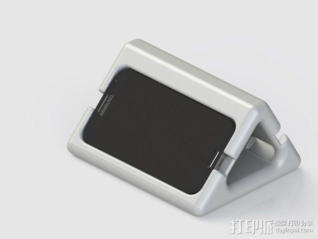 三星Galaxy S4手机架 3D模型  图3