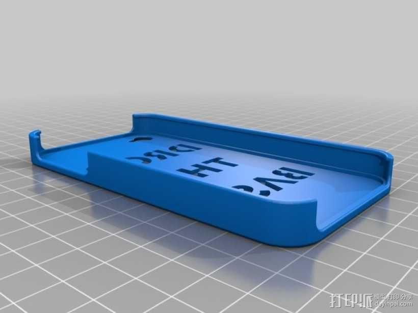 iphone 4手机保护外壳 3D模型  图2