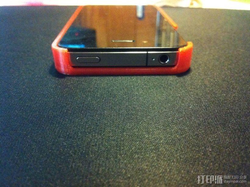 iphone 4手机保护外壳 3D模型  图4