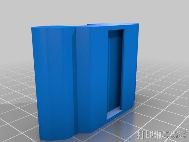 腕带夹 自行车夹  3D模型  图4