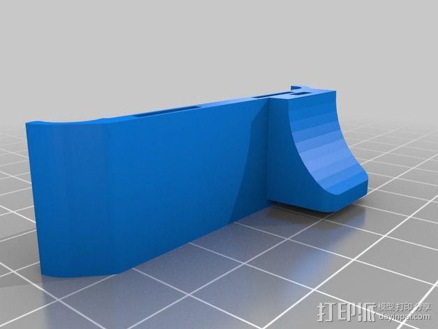 腕带夹 自行车夹  3D模型  图6