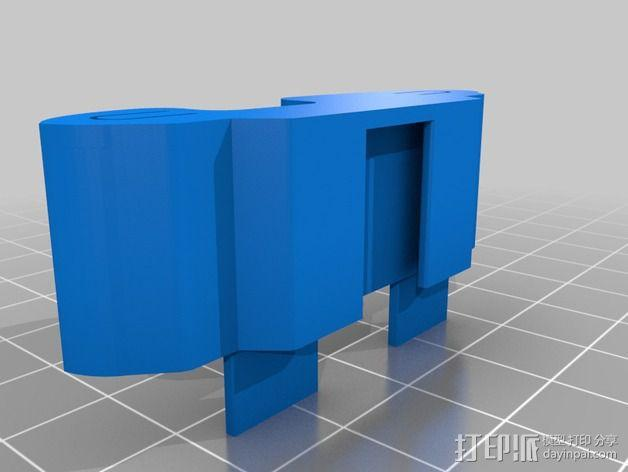 腕带夹 自行车夹  3D模型  图7