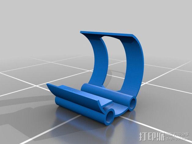 手机架 3D模型  图2