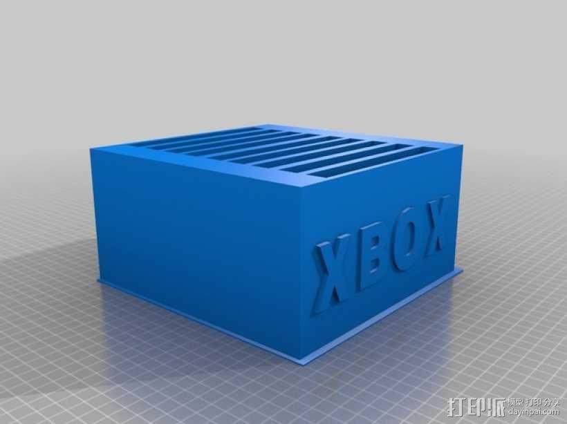 Xbox 游戏卡收纳盒 3D模型  图1