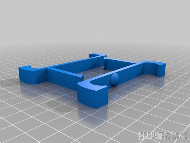 车载式智能手机支架 3D模型  图2