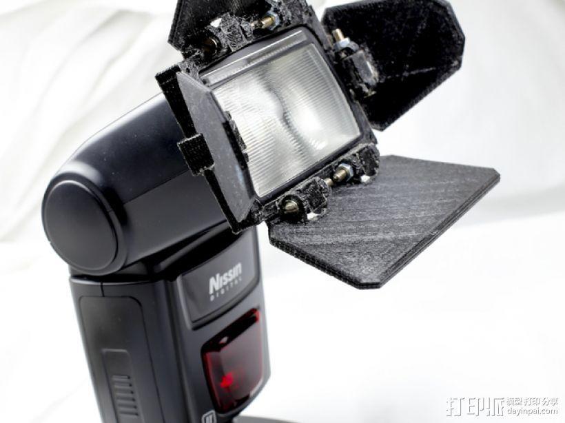 相机挡光板 3D模型  图1