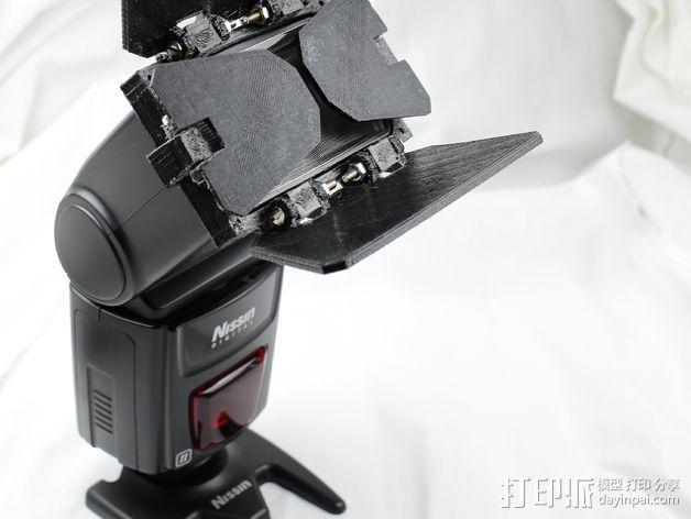 相机挡光板 3D模型  图8