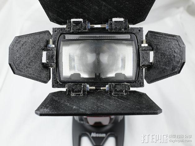 相机挡光板 3D模型  图7