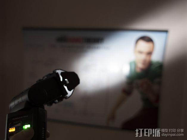 相机挡光板 3D模型  图11