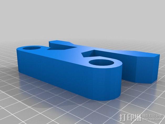 相机移动式摄影车 3D模型  图4
