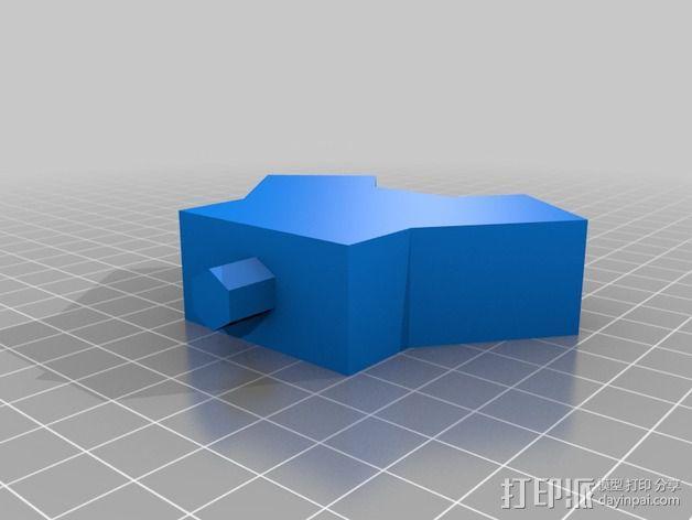 相机移动式摄影车 3D模型  图2